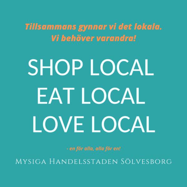 Vill du ha lokala butiker imorgon? Använd dem idag!